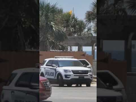 Reader submits video showing man crawling to patrol car - Video by Leigh-Anne Jeter