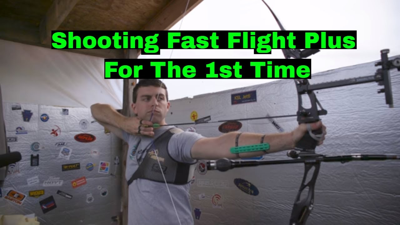 My First Experience Shooting Brownell Fast Flight Plus & Comparing It To  BCY 8125 String Material