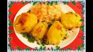 Секрет приготовления Супер хрустящего картофеля в духовке Золотая Картошка