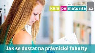 Jak se dostat na pravnicke fakulty a udělat přijímací zkoušky www KamPoMaturite cz