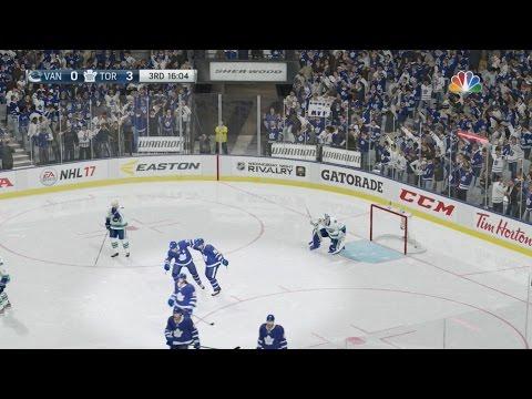 NHL 17: Toronto Maple Leafs Vs Vancouver Canucks - FULL GAME