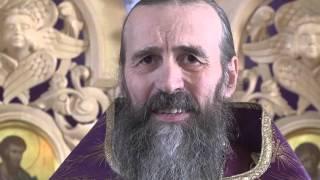 Проповедь отца Александра Захарова 20 марта 2016