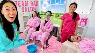 I BUILT A BEAUTY SALON AT THE TEAM RAR HOUSE!!