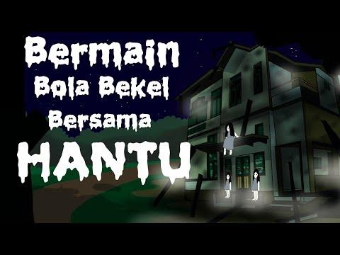 Kartun Lucu - WOWO BERMAIN BOLA BEKEL BERSAMA HANTU - Animasi Hantu Horor Lucu Indonesia