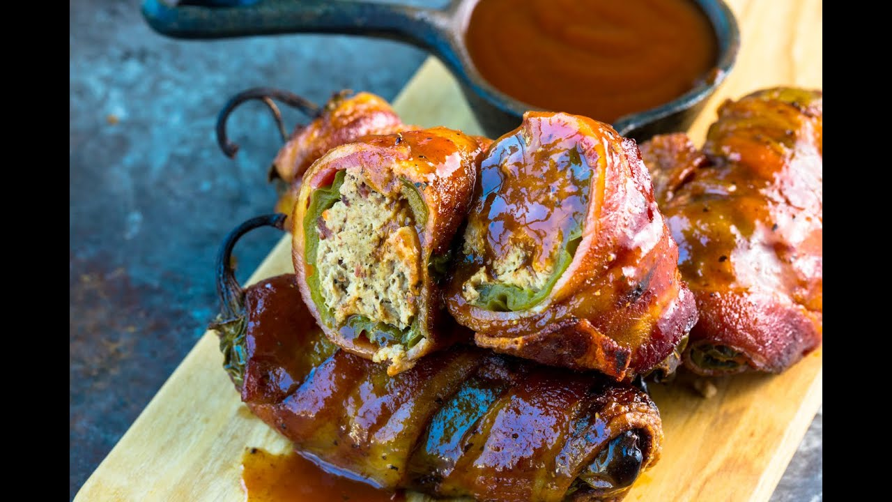 The Best Texas Twinkies Recipe! - Barbecued Bacon Wrapped Jalapenos - Step By Step