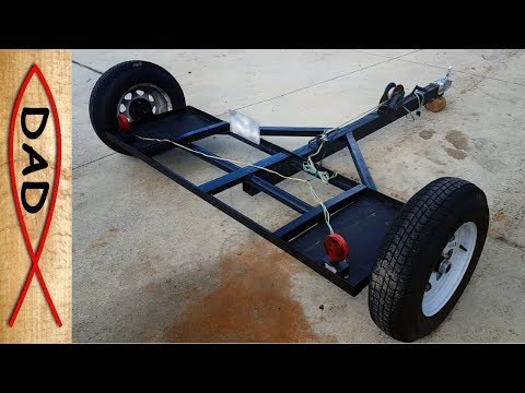 How I built a Tow Dolly from scraps around the house