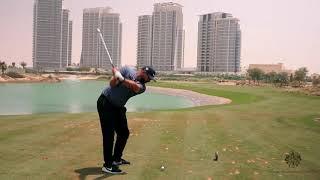 Hole 3 at Trump Golf Dubai