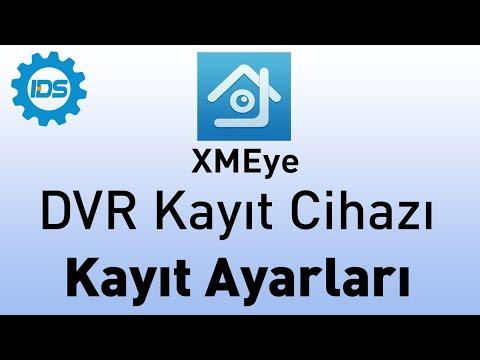 DVR Kayıt Cihazı - Kayıt ayarlarını yapma - XMEYE