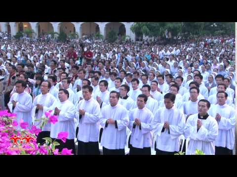 WGPSG - Trực tuyến Đại lễ Lòng Chúa Thương Xót tại Trung tâm Mục vụ TGP Sài Gòn 2015