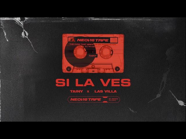 Si La Ves - Tainy, Las Villa (Official Audio)