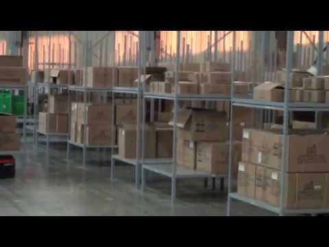 Логистика Гринлиф  Роботы на складе