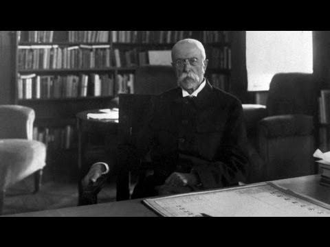 Tomáš Garrigue Masaryk - first president of Czechoslovakia