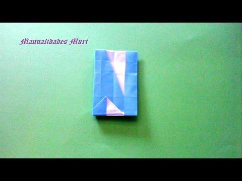 lettre n origami