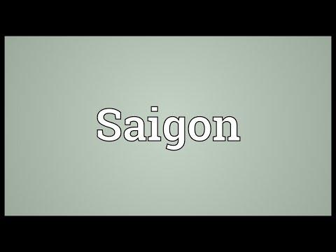 Saigon Meaning