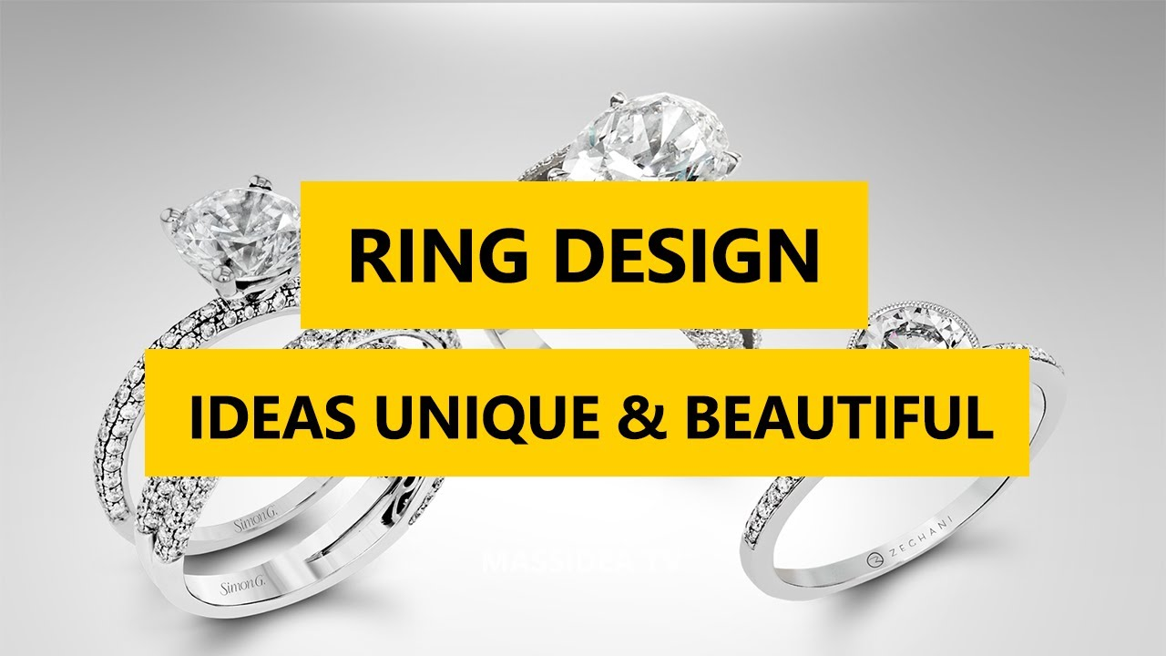 45 Best Ring Design Ideas Unique & Beautiful 2017 - YouTube