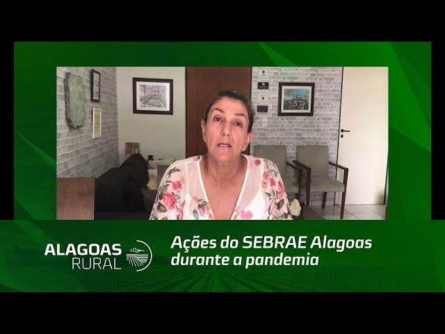 Ações do SEBRAE Alagoas durante a pandemia
