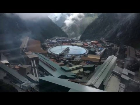 Freeport Indonesia - View from sky