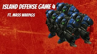 Starcraft 2 Arcade Island Defense - Builder - Game 4 - Spectre