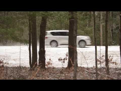 Boston Herald Carsmart Infiniti QX80 test drive