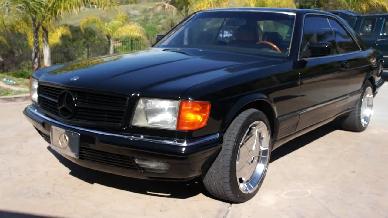 1984 Mercedes Benz 500SEC EURO Model 2 Owner W126 560SEC Coupe For Sale