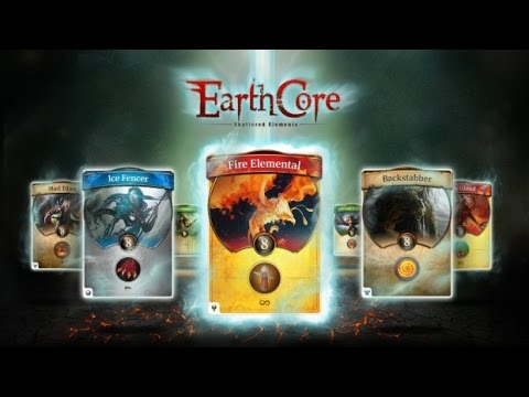 Opening Fresh Pack - Earthcore Shattered Elements