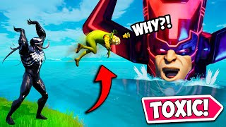 WORLD'S MOST *TOXIC* TEAMMATE EVER!! - Fortnite Funny Fails and WTF Moments! #1106
