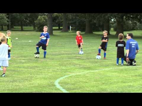 Colchester Villa Under 6's Football Training Session