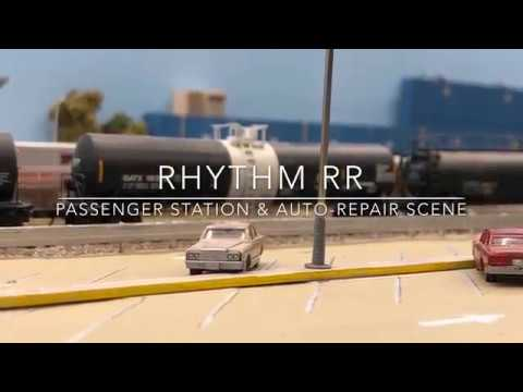 Rhythm RR (Passenger Station & Auto-mechanic Scene)
