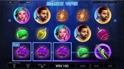 Endorphina Diamond Vapor Slot Gameplay