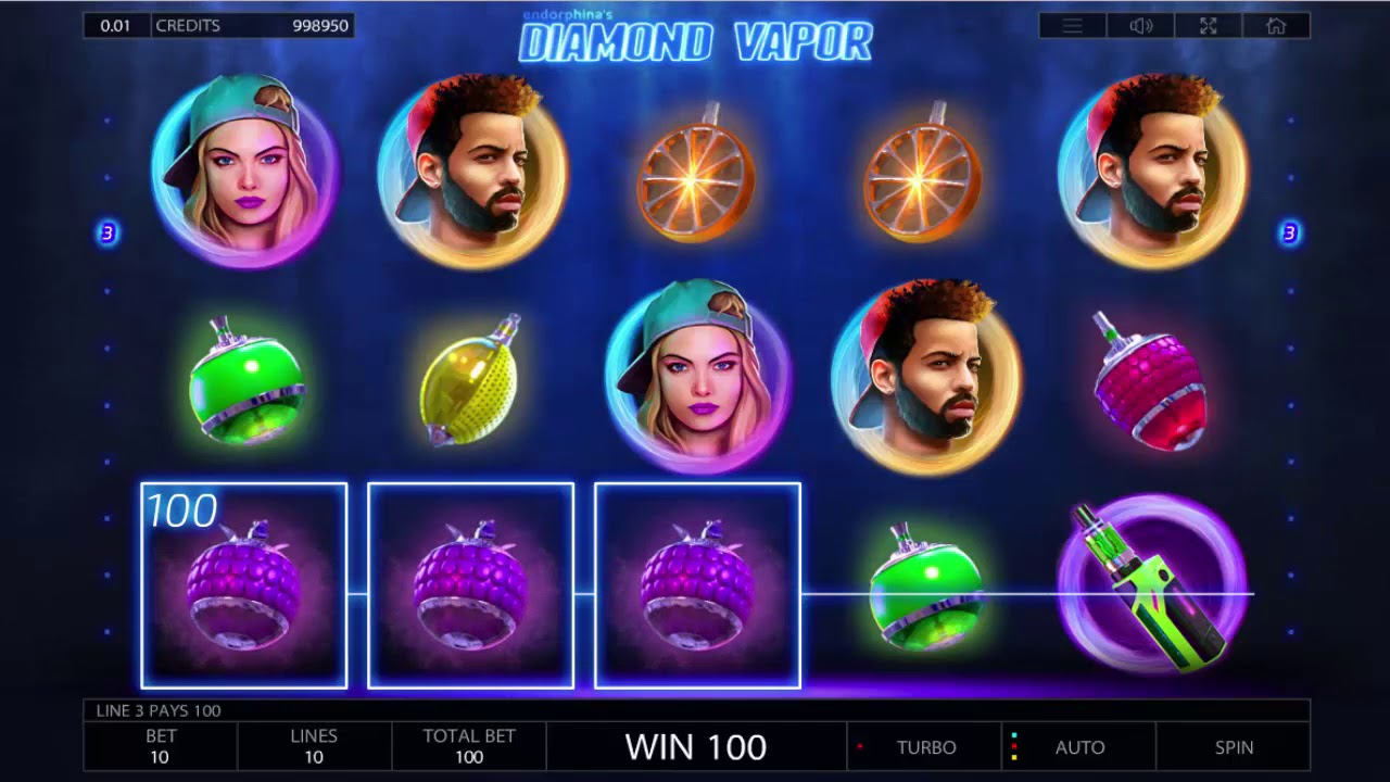 Zurich bar diamond vapor endorphina slot game rain video