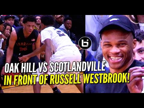 Oak Hill Vs Scotlandville In Front of Russell Westbrook At NBA All-Star Weekend!