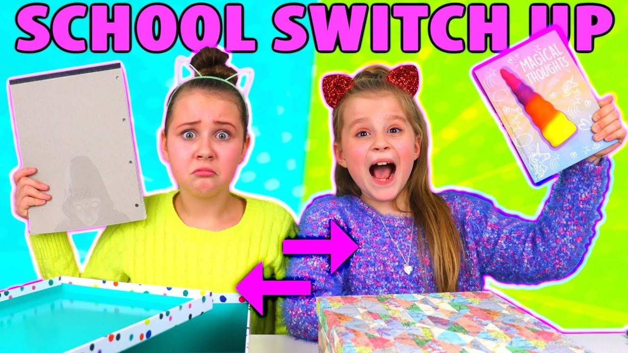 [VIDEO] - BACK TO SCHOOL SWITCH UP CHALLENGE!! 6