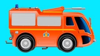 New 3d Fire Engine Truck Mouse Adventure Build & Play For Children [소방차 핀]