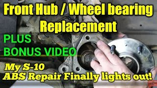 00-05 Buick lesabre Front Hub replacement – Bonus ABS Repair Chevy S10
