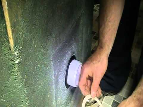Installing The Perfect Shower Drain For A Basement.Excellent Product.