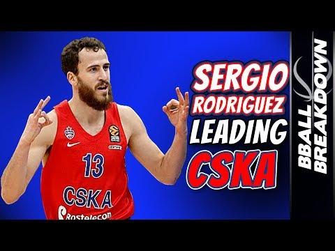 Sergio Rodriguez Leading CSKA