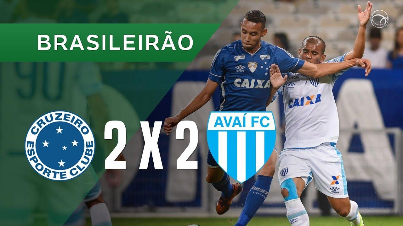 Cruzeiro 2 X 2 Avaí 15 11 Brasileirão 2017 Youtube