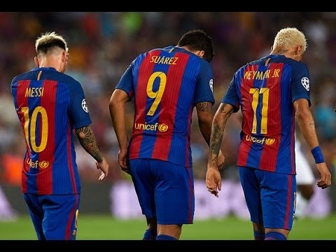 MSN ● Messi Suarez Neymar ● skills & goals 16/17 ● ''Fetty Wap 679''