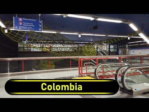 Metro Station Colombia - Madrid - Walkthrough 🚶