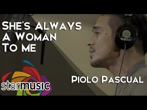 Piolo Pascual - She's Always A Woman To Me (Recording Session)
