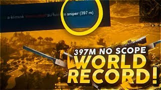 397 METROS NO SCOPE!! WORLD RECORD Fortnite:Battle Royale