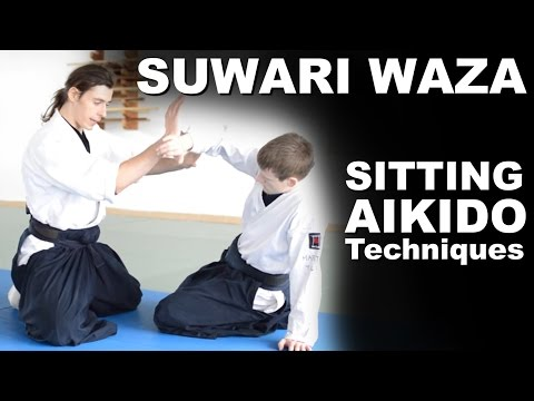 How to do Suwari Waza Techniques (Sitting Aikido)