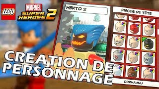 CREATION DE PERSONNAGE  - LEGO MARVEL SUPER HEROES 2