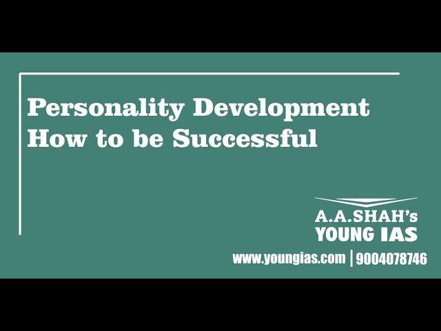 Personality Development | How to be Successful | Motivation | In Life | Successful Students