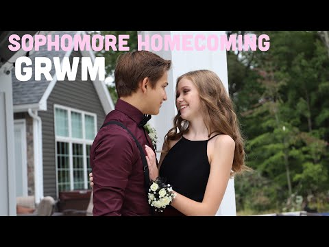 HOMECOMING GET READY WITH ME// grwm