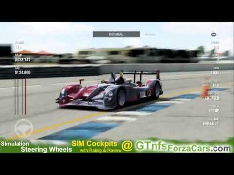 Forza 4 Sebring Raceway 2011 Audi R15 TDI