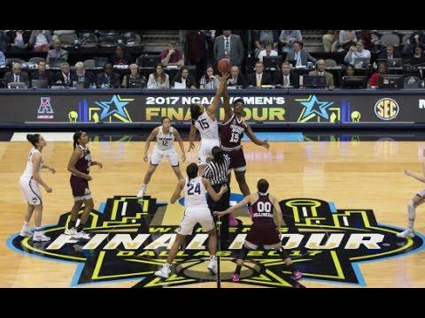 UConn Women's Basketball Highlights vs. Mississippi State 03/31/2017 (NCAA Tournament Final Four)