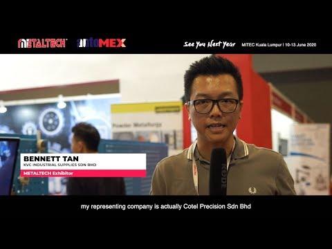 METALTECH MITEC 2019 - KVC Industrial Supplies Sdn Bhd
