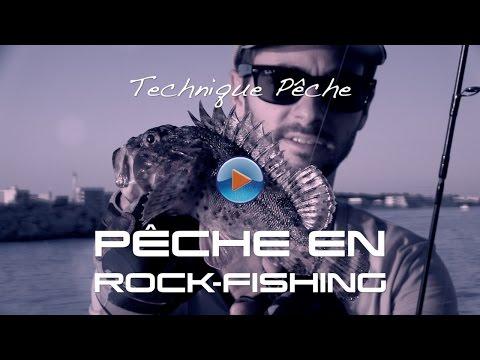 Comment pêcher en rock fishing - Technique de pêche