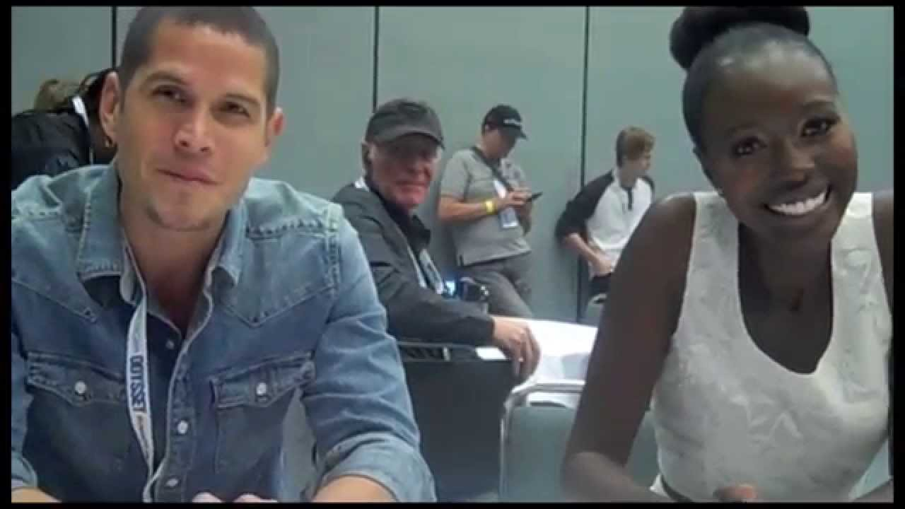 JD Pardo and Anna Diop Interview    The Messengers    YouTube